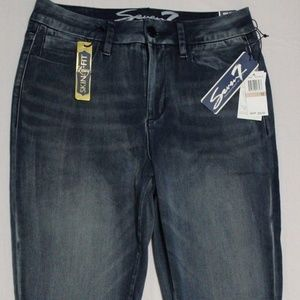 $69 SEVEN7 ELECTRA BU HIGH RISE SKINNY JEANS US 12